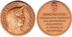 D/ Lotto 10 medaglie in bronzo Assonummus, Milano 1981 (NON SI ACCETTANO RESI)