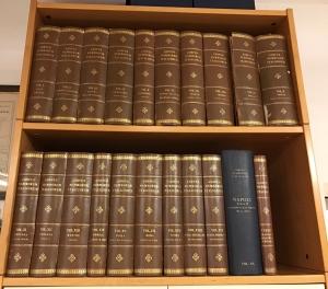 D/ Corpus Nummorum Italicorum, opera completa in 20 volumi originali compreso l'estremamente raro XX volume conosciuto in pochissime copie + il tariffario Dotti