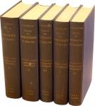 D/ BABELON Ernest, Traitè des Monnaies Grecques et Romaines. Opera in 5 volumi (2 per la I parte) mancano le tavole - Ristampa Forni 1967 Tela, pp. 3340 disegni nel testo