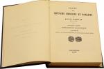R/ BABELON Ernest, Traitè des Monnaies Grecques et Romaines. Opera in 5 volumi (2 per la I parte) mancano le tavole - Ristampa Forni 1967 Tela, pp. 3340 disegni nel testo