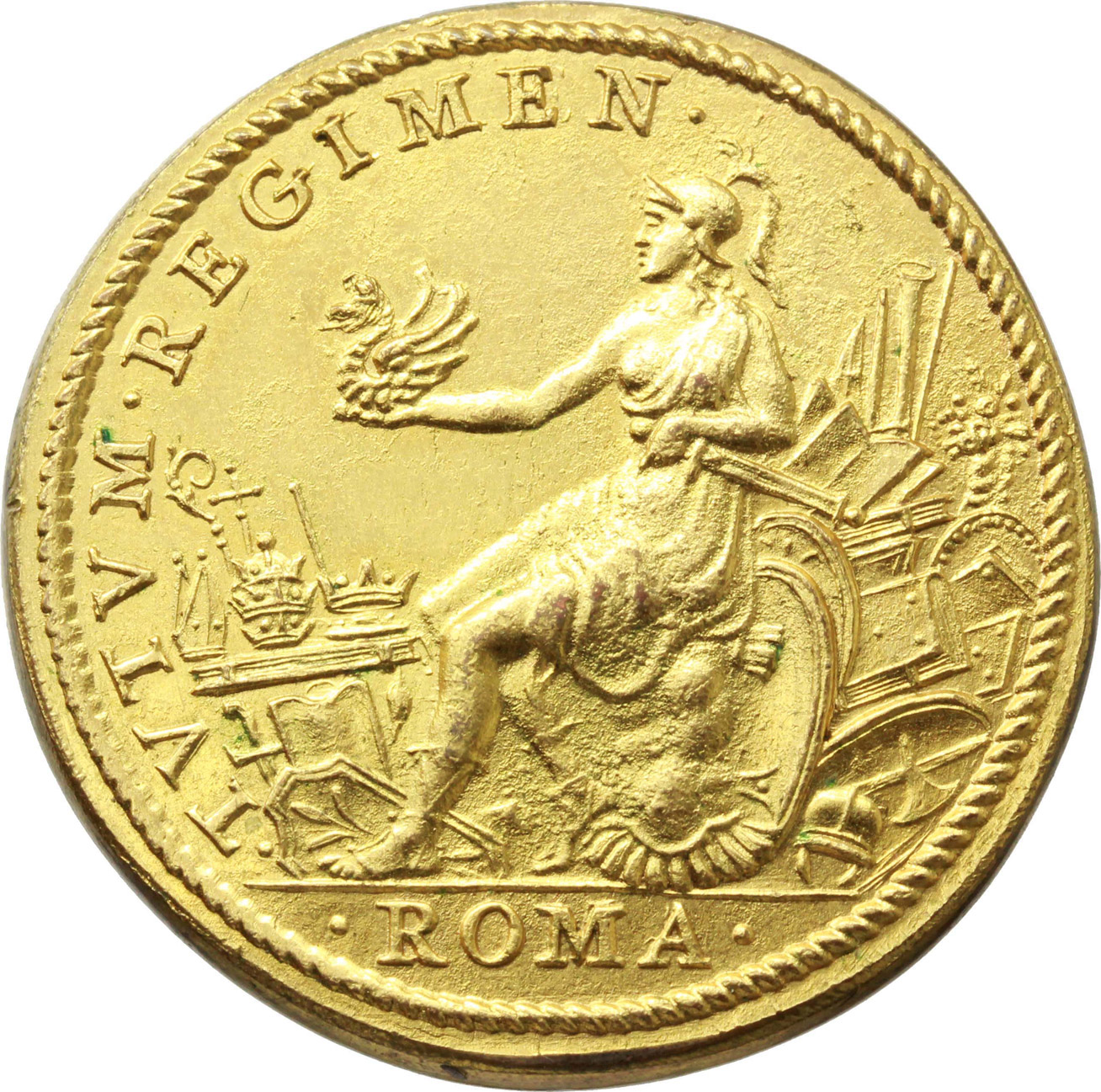 Reverse image of coin 1112