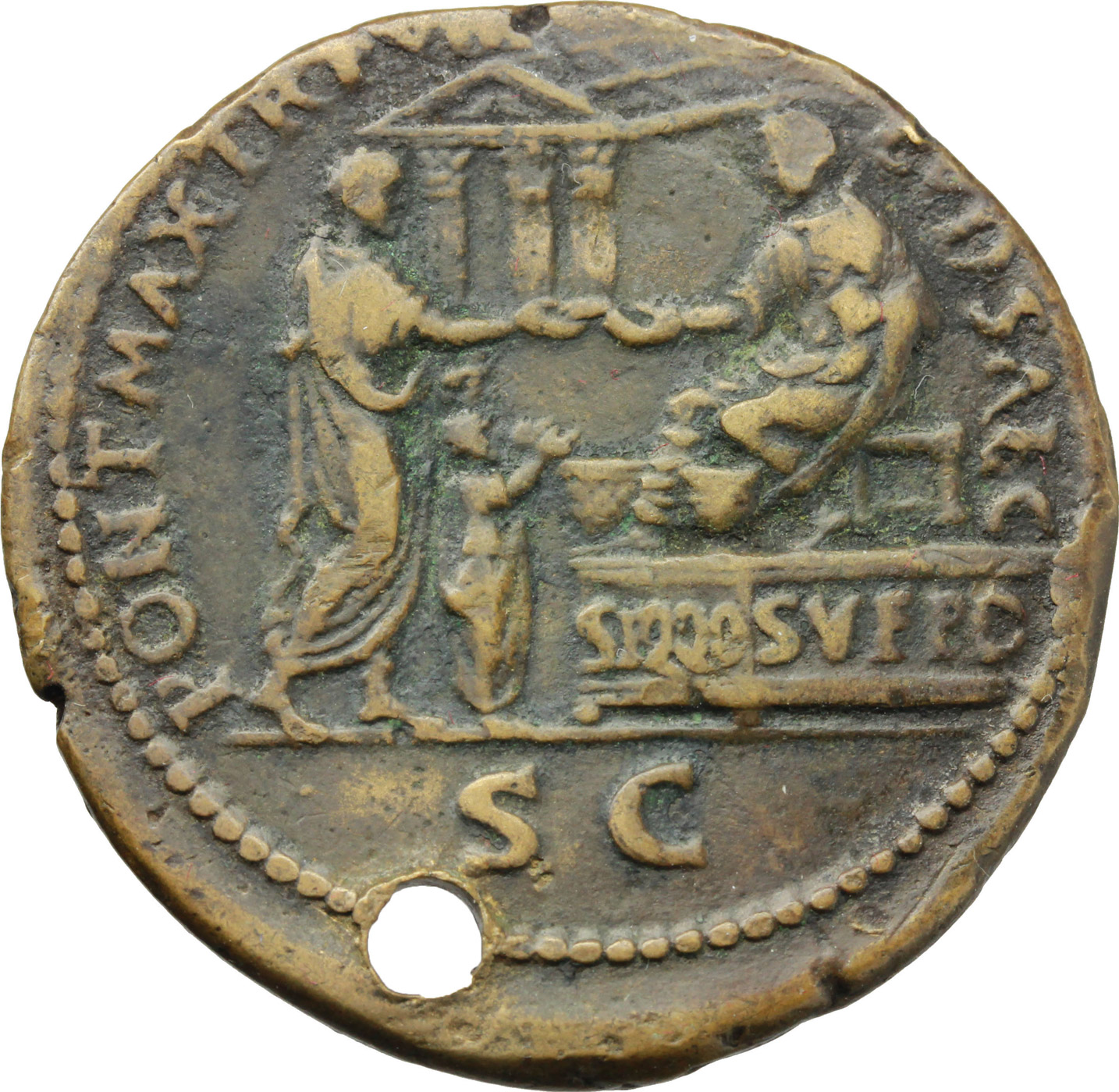 Reverse image of coin 1140