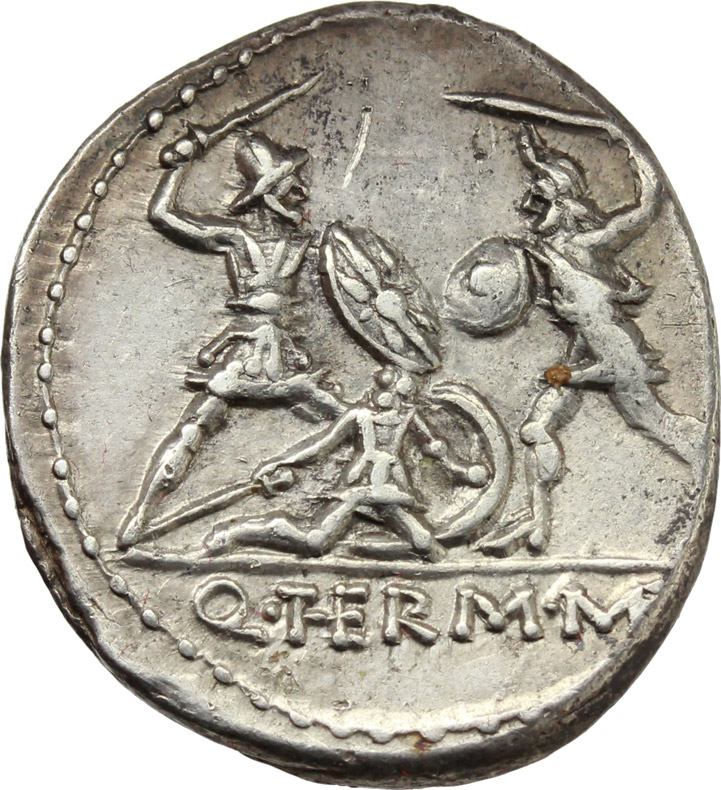 Reverse image of coin 151
