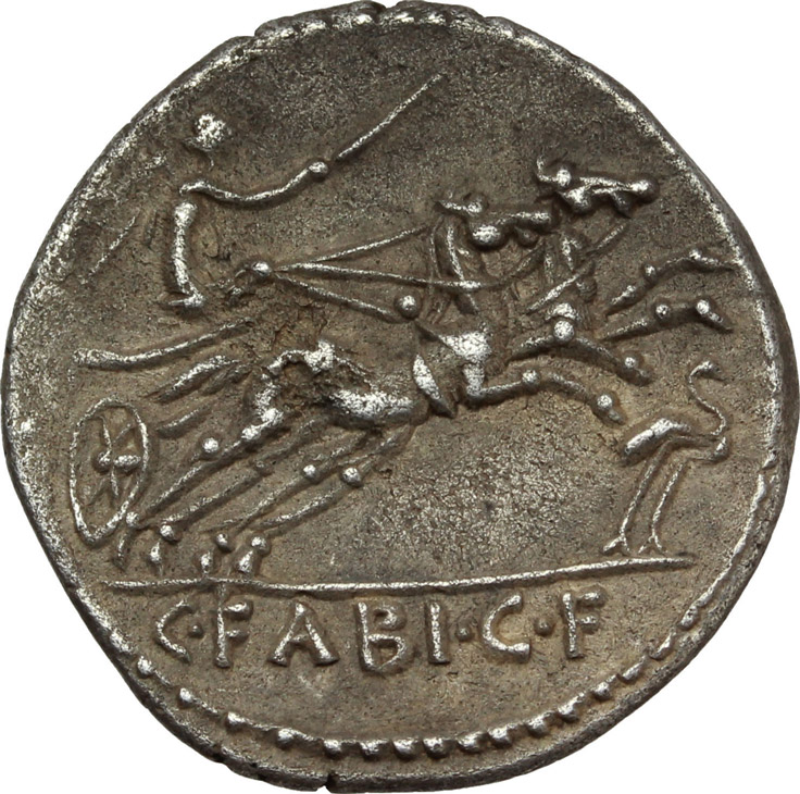 Reverse image of coin 155