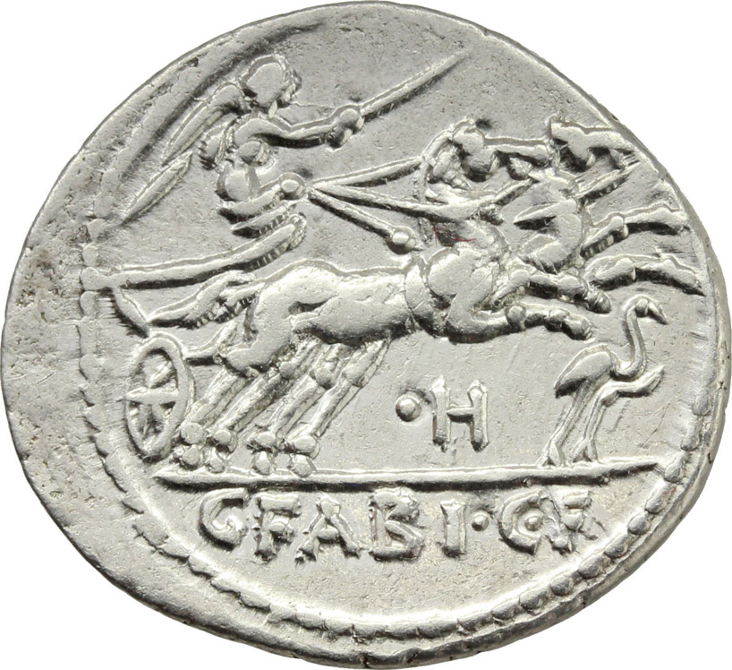 Reverse image of coin 156