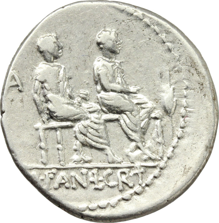 Reverse image of coin 185