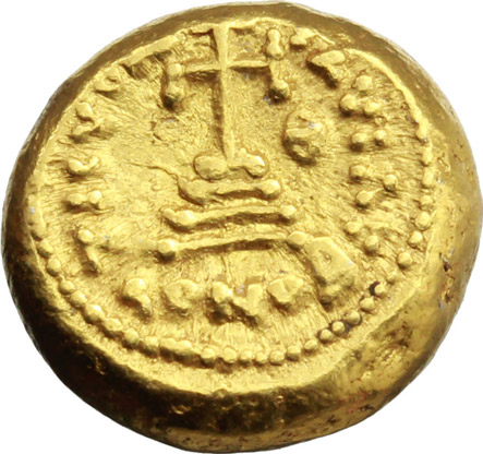 Reverse image of coin 500