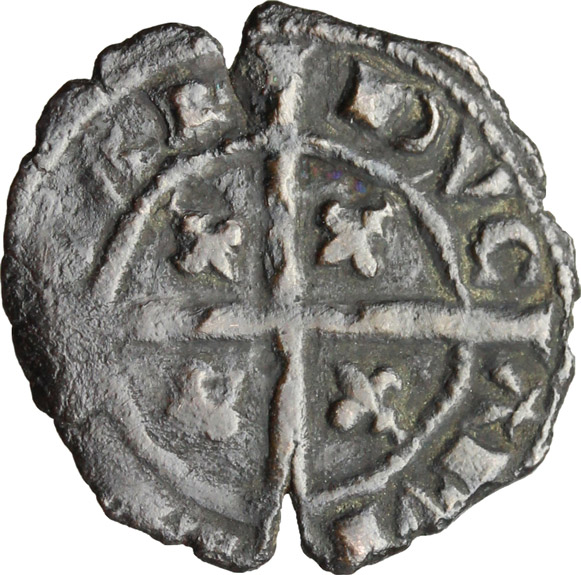 Reverse image of coin 516