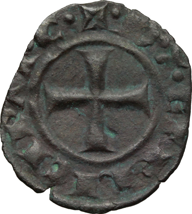 Reverse image of coin 518