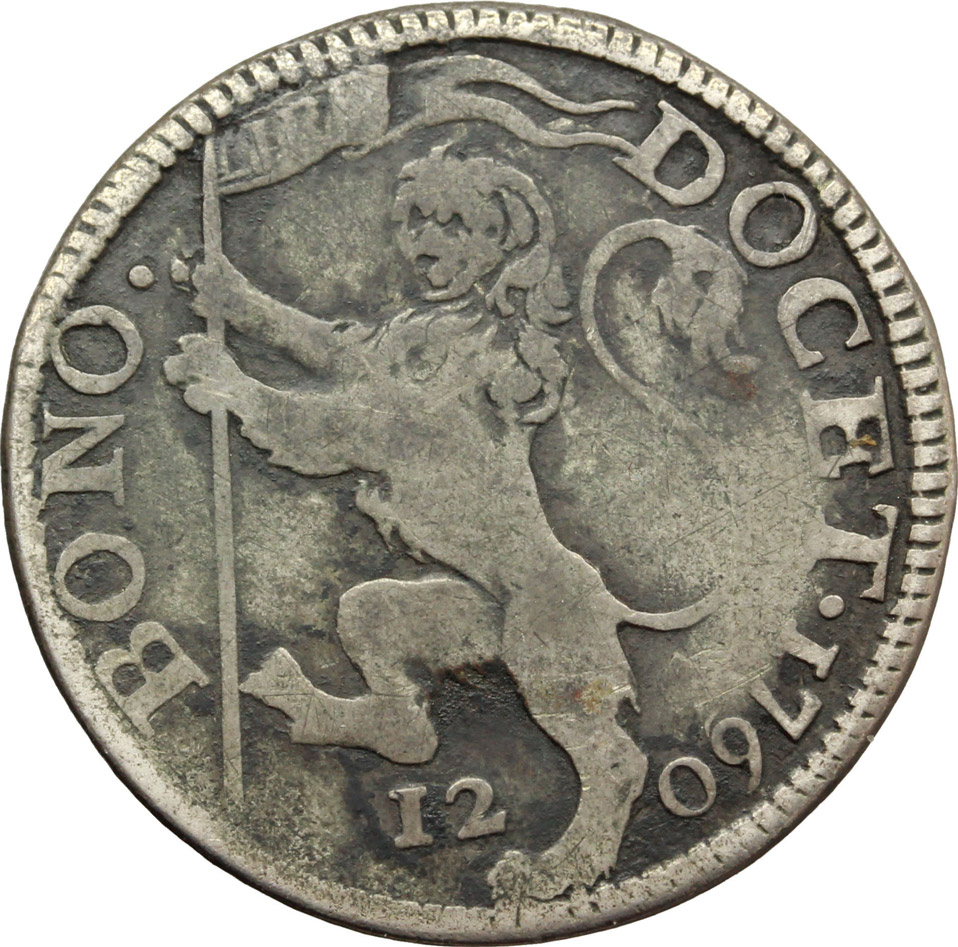 Reverse image of coin 710