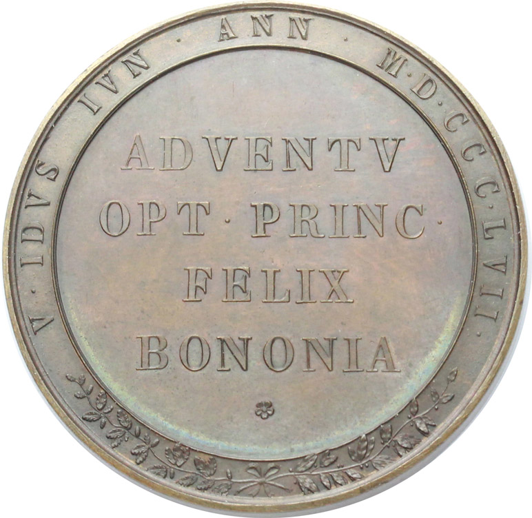 Reverse image of coin 717