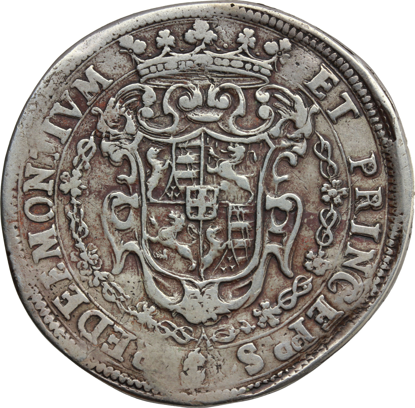 Reverse image of coin 878