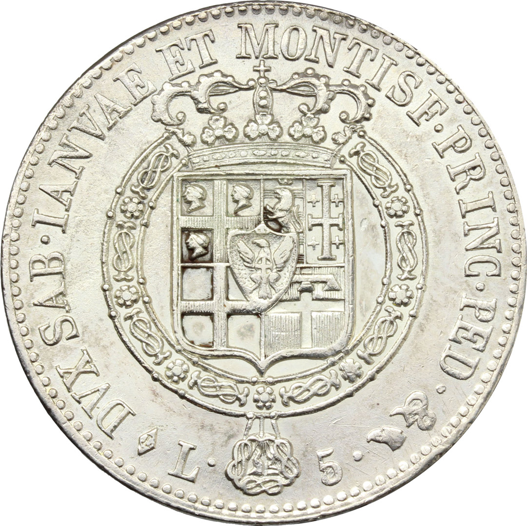 Reverse image of coin 880