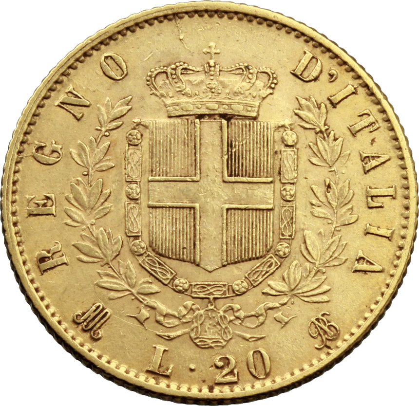 Reverse image of coin 889