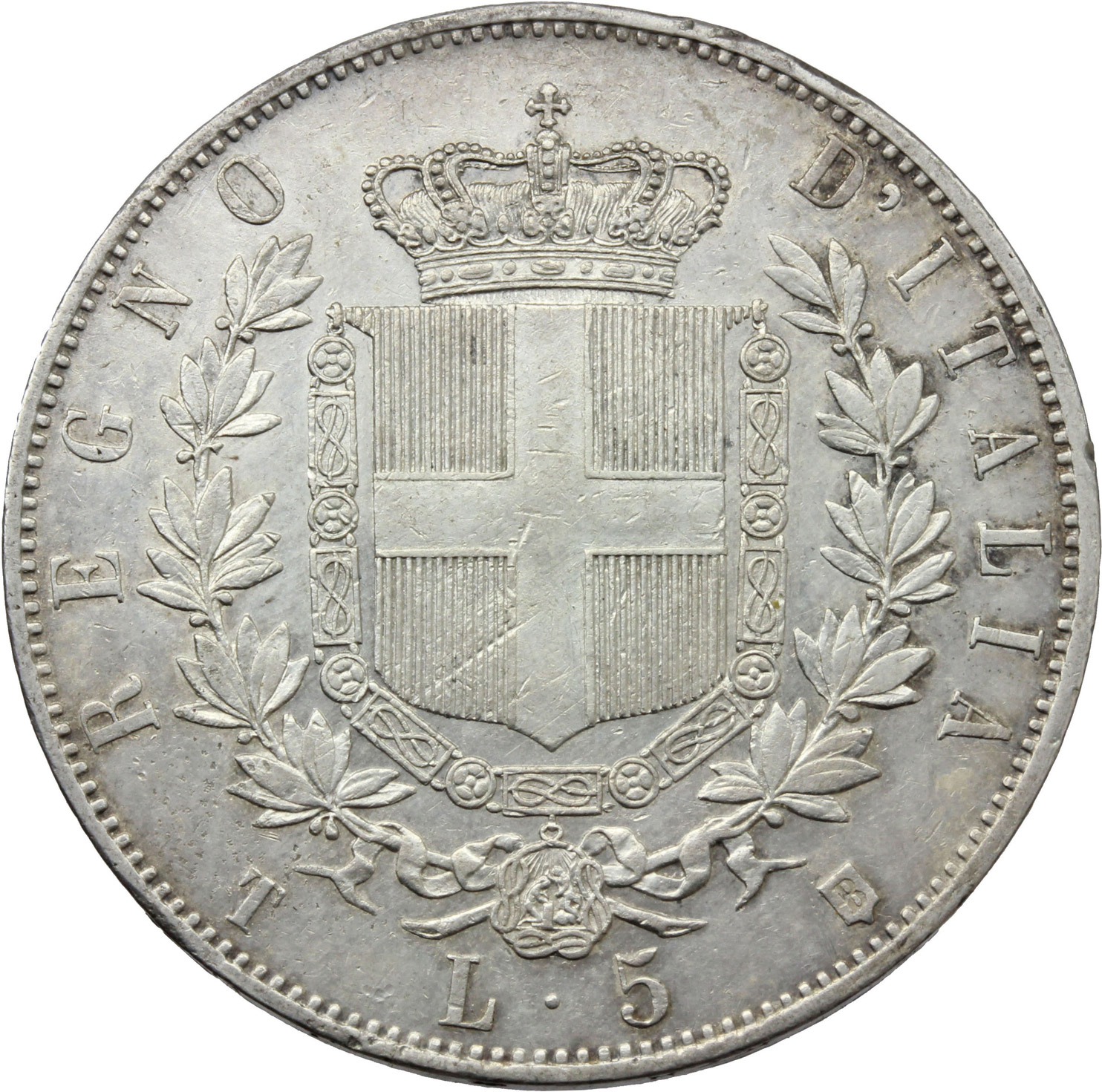 Reverse image of coin 892