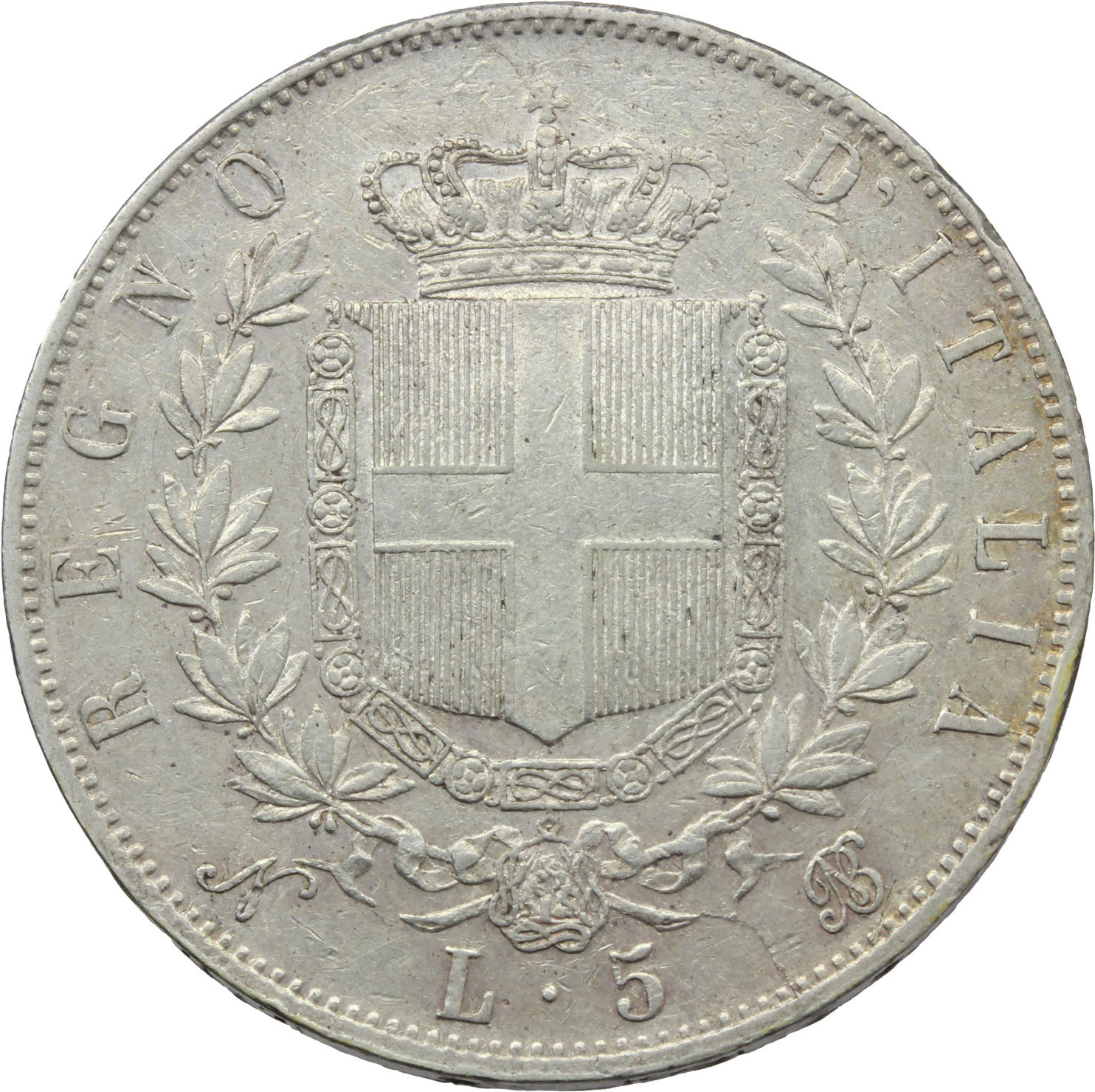 Reverse image of coin 895