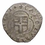 D/ Casa Savoia.Carlo Emanuele I (1580-1630).Parpagliola 1582 MG. (I tipo).MIR 666 g .MI.gr 1,43 ;mm 19,87 x 19,99.BB-qSPL