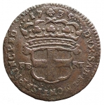 R/ Casa Savoia - Carlo Emanuele III 1730-1773. 2,6 Soldi anno 1735.Grammi 3,4. MIR 937c. BB. NC