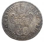 R/ Casa Savoia - Vittorio Amedeo III (1773-1796).20 soldi 1796.MIR 990c. Mont. 373.MI.g 5.23.mm 26.47.NC.Bel BB+. Patina su argentatura