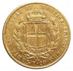 R/ Casa Savoia - Carlo Alberto (1831-1849).20 lire 1849 G.Pag. 208.AU.BB+/BB++. Metallo parzialmente lucente