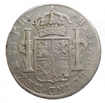 R/ Estere - Messico. Carlo IIII. 8 Reals 1806 T H. Ag. qBB