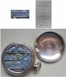 R/ Orologi - Costantin Vacheron. Raroorologio da tasca primi 900prodotto per il mercato americano.Perfettamente funzionante.