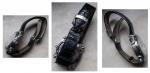 R/ Orologi - Oris modello Players. Anni 90 del XX° sec. Movimento automatico. Revisionato e perfettamente funzionante. Cassa in acciaio. Quadrante porcellanato di colore bianco con 4 contatoriper i punteggi al gioco del golf. Cinturino in pelle. Ottime condizioni generali