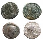 D/ Lotti - Insieme di 4 esemplari. n 2 denari in Ag + n 2 piccoli bronzi in Ae.
