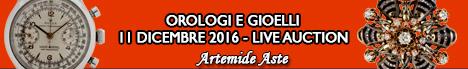 Banner Artemide Gioielli e Orologi