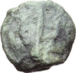 Reverse image of coin 8020