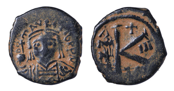 Coins & Paper Money Byzantine Empire Justin Half Follis Sophia Thessalonica Ae 21 Nice Coin Coins: Ancient