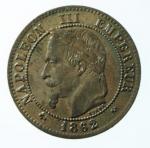 D/ Monete Estere. Francia. Napoleone III. 1852- 1870. 5 centesimi 1862 K. AE.KM 19.6. SPL.x