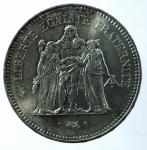 D/ Monete Estere. Francia. 50 Franchi 1976. Ag. qFDC. Patina.s.v