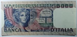 D/ Cartamoneta. Repubblica Italiana. 50000 lire Volto di donna. qSPL.s.v