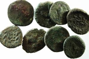 D/ Lotti. Sicilia Greca. Lotto di 8 monete Akragas, Himera, Siracusa, mediamente qBB.