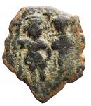 D/ Bizantini - Eraclio. 610-641 d.C. Follis.Æ. Peso gr. 6,09. qBB.