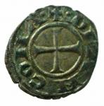 D/ Zecche Italiane. Ancona. Sec. XIII. Denaro. Peso 0,70 gr. Diametro 16,55 mm. BB+.