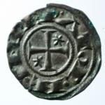 D/ Zecche Italiane. Brindisi. Enrico VI. 1190-1198. Denaro. MI. D/ AP. R/ Croce. Sp. 30. Peso gr. 0.90. SPL.x