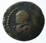 D/ Zecche Italiane. Cagliari. Filippo III. 1598-1621. Soldo. AE. MIR 64. MB.x