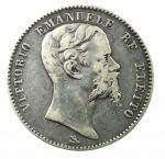 D/ Casa Savoia. Vittorio Emanuele II. Re Eletto. 1859-1861. 2 lire 1860 Firenze. AG. Pag. 436. qBB\BB+. R.