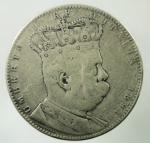 D/ Casa Savoia. Umberto I. Colonia Eritrea. 5 lire o Tallero 1891. Ag. Gig 1. qBB. Colpetti. R.
