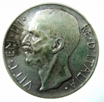 D/ Casa Savoia. Vittorio Emanuele III. 10 Lire 1927. Ag. Gig.56. BB+\BB. NC.