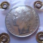 D/ Repubblica Italiana. 100 lire 1958. qFDC. Periziata Simone Rocco di Torrepadula. rf
