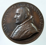 D/ Medaglie. Vaticano. Giovanni XXIII. Anno Mariano. 1958. Ae.Peso 35,00 gr. Diametro 40,00 mm. FDC.