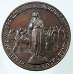 R/ Medaglie. Vaticano. Giovanni XXIII. Anno Mariano. 1958. Ae.Peso 35,00 gr. Diametro 40,00 mm. FDC.