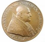 D/ Medaglie. Vaticano. Giovanni XXIII. 1965. SALVTIFERAM ORBI PACEM PROPOSVIT. Ae. FDC.
