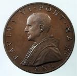 D/ Medaglie. Vaticano. Paolo VI. Anno I. Ae. Peso 31,95 gr. Diametro 34,00 mm.FDC.