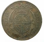 R/ Medaglie. Francia. Luigi XV. Burgundia. Gettone 1728.COMITIA BURGUNDIAE ROBUR ET DECUS NOVUM. Peso 9,55 gr. Diametro 31,00 mm.SPL.