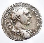 D/ Medaglie - Riproduzione coeva denario di Traiano. Peso gr. 2,85. Diametro mm. 17,5. Patina.