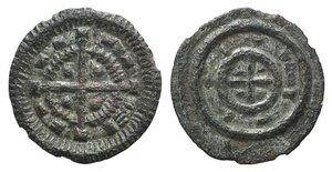 D/ Hungary, Bela II (1131-1141). BI Denar (11mm, 0.33g). Cross with circle; pellet in each quarter. R/ Cross within circle; pellet in each quarter. Unger 53. Good VF